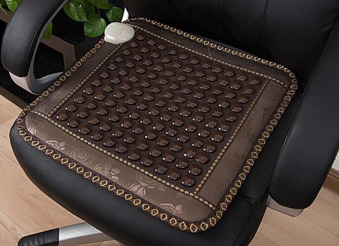 2016 Most Popular Korea Black Leather Germanium Cushion Tourmaline Pad Cushion For Sale Free Shipping