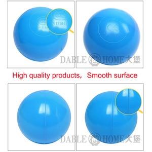 Image 2 - 200 pz/borsa giocattolo per bambini palle colorate in plastica morbida Ocean Ball Eco Friendly piscina di acqua Ocean Wave Ball Pit giocattoli per bambino diametro 5.5cm