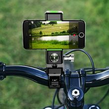 Multi-functional Bicycle Handlebar Mount Bracket Motorbike Phone Holder With Compass Bracket for iPhone Samsung 3.5-6.5 inch trimble tsc3 hand thin bracket with compass tempo tsc3 tsc2 gps rtk bracket