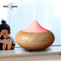 200ml Air Humidifier Aroma Diffuser Ultrasonic Essential Oil Diffuser Dry Protect Aromatherapy Mist Maker With LED