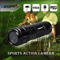 Full HD 720 p DV Mini Câmera À Prova D' Água Esportes de Ação Camera Capacete Da Bicicleta Suporte de Vídeo Digital DVR 120 Graus de Largura