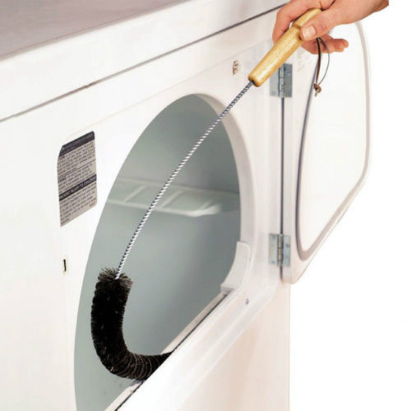 CLOTHES DRYER Lint Vent Trap Cleaner Brush gas electric Fire Prevention Bottle / image