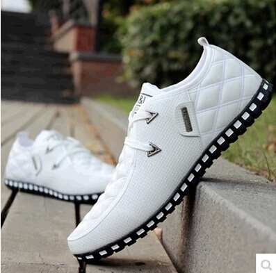 Fashion Brand Design Man Casuals Daily Casual Light Shoes Spring Autumn White Men Casuals Quality Shoes Plus Size 45 39