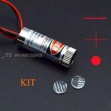5 МВТ красного креста лазерной линии промышленные лазерные модули комплект