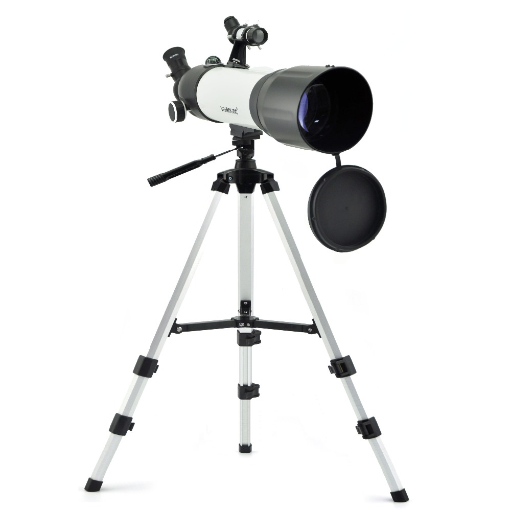 Visionking 90500mm Refractor Astronomical Telescope Space Planet Moon Jupiter Universal Astronomy Monocular With High Tripod