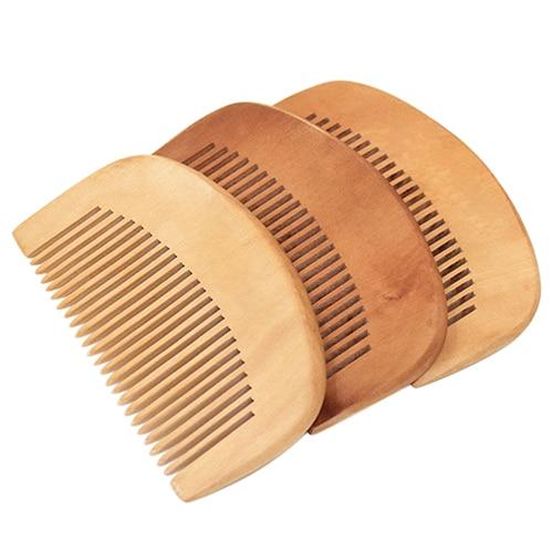 New Hot Sale Hair Health font b Care b font Natural Peach Wood Comb Close font