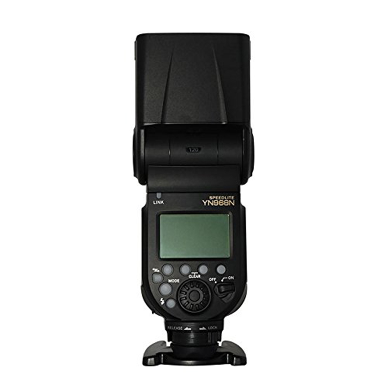 YONGNUO YN968N Flash sans fil Speedlite TTL 1/8000 avec lumière LED pour Nikon Compatible avec les systèmes sans fil YN622N et YN560