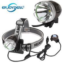 Открытый 3000 люмен T6 светодио дный лампы велосипед головной свет фар фары факел для охоты кемпинг рыбалка