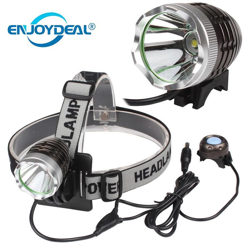 En plein air 3000 Lumens T6 LED Vélo Lampe de vélo Head Light Phare de phare Torche pour la chasse camping randonnée pêche