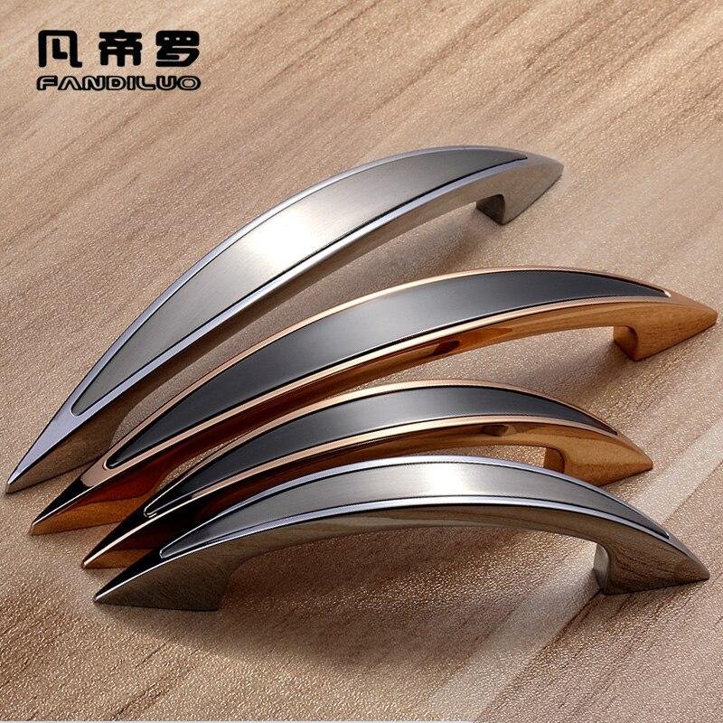 Furniture handles cabinet wardrobe door knobs - Bedroom furniture handles and pulls ...