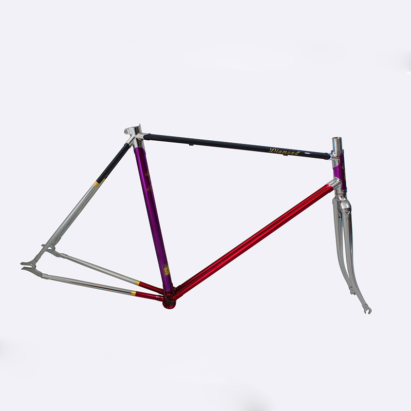 DIY fixie bike Chrome molybdenum steel frame road bike frame 700 C frame 48 cm 50 cm 52 cm 54 cm 56cm 58cm road Bike frame