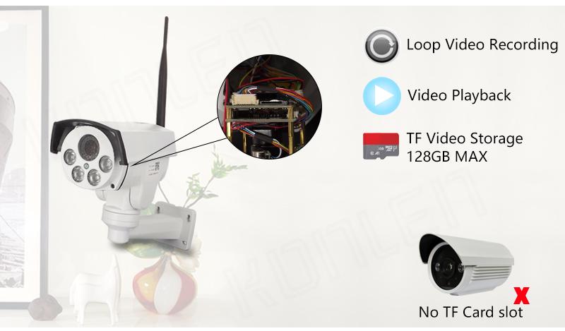 Zoom PTZ outdoor camera IP 03