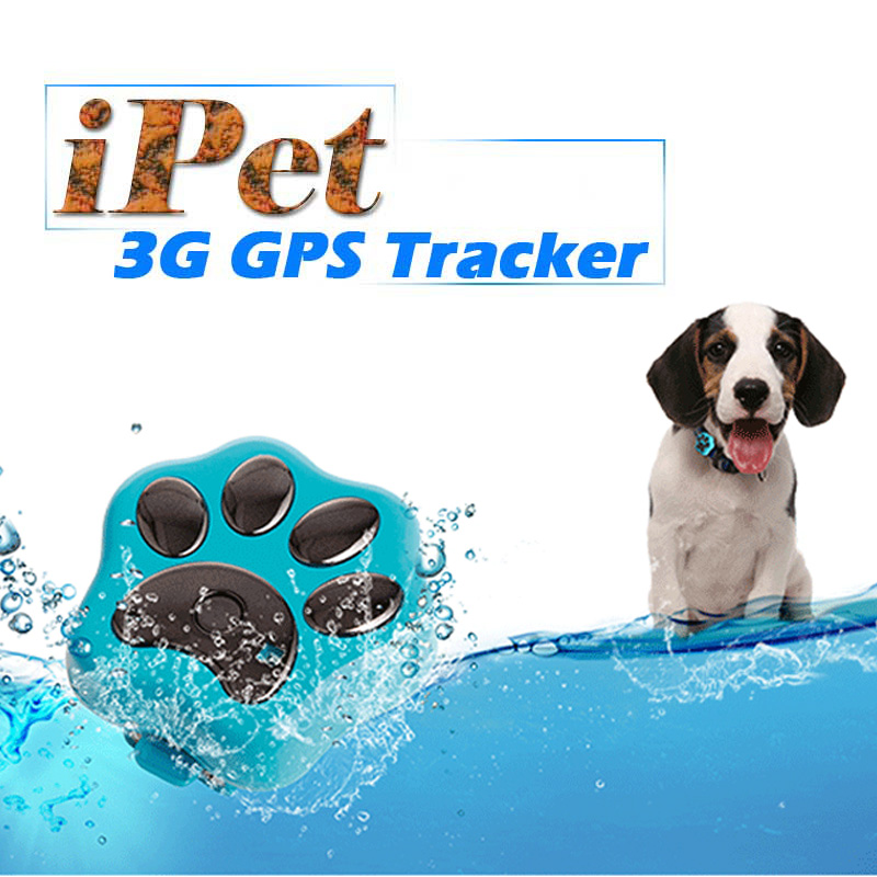 3G Network MiNi Waterproof GPS Tracker Dog Cat Pet Personal Tracking Locator IOS / Andriod App GSM GPRS Tracker 5pcs pet gps tracker v40 3g network waterproof mini gps tracker dog cat pet personal tracking locator ios andriod app gsm gprs