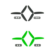 2 Pairs Gemfan Gf 5030 3-blade Propeller for Black X-power Mwc Rc Quadx Quadcopter