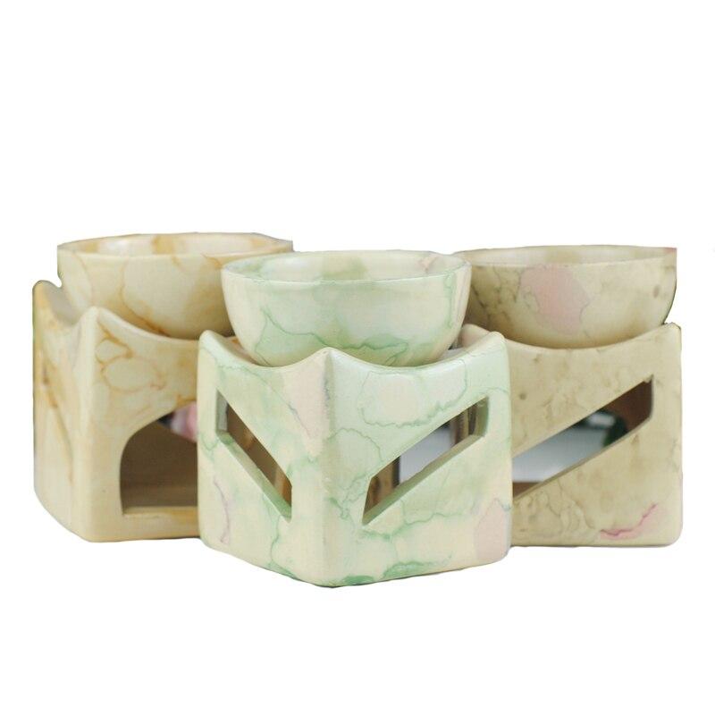 3 Cores com Suporte de Vela Queimador de Óleo de cerâmica Aquecedor A Óleo Aromaterapia Grande Capacidade Sem Vela W $