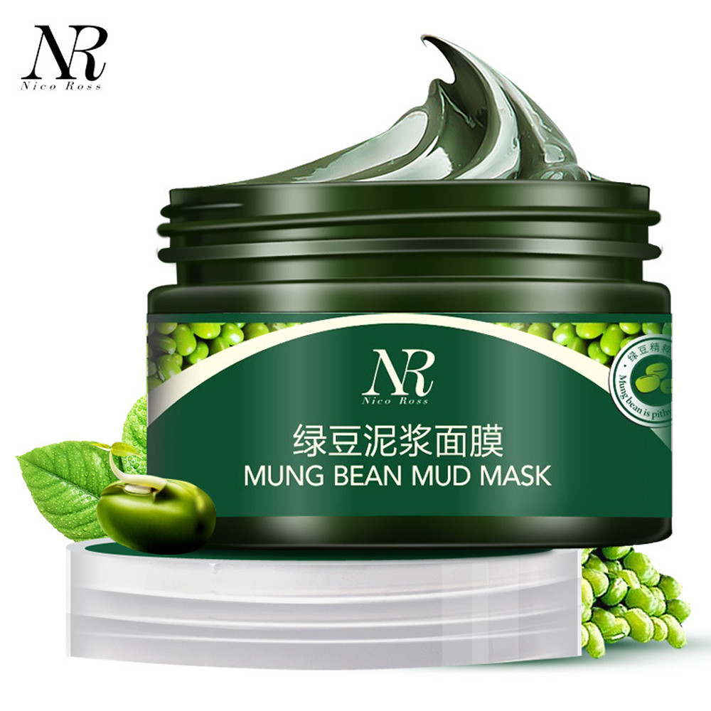 NR Mung Bean Mud Mask Unisex Skin Care Cosmetic