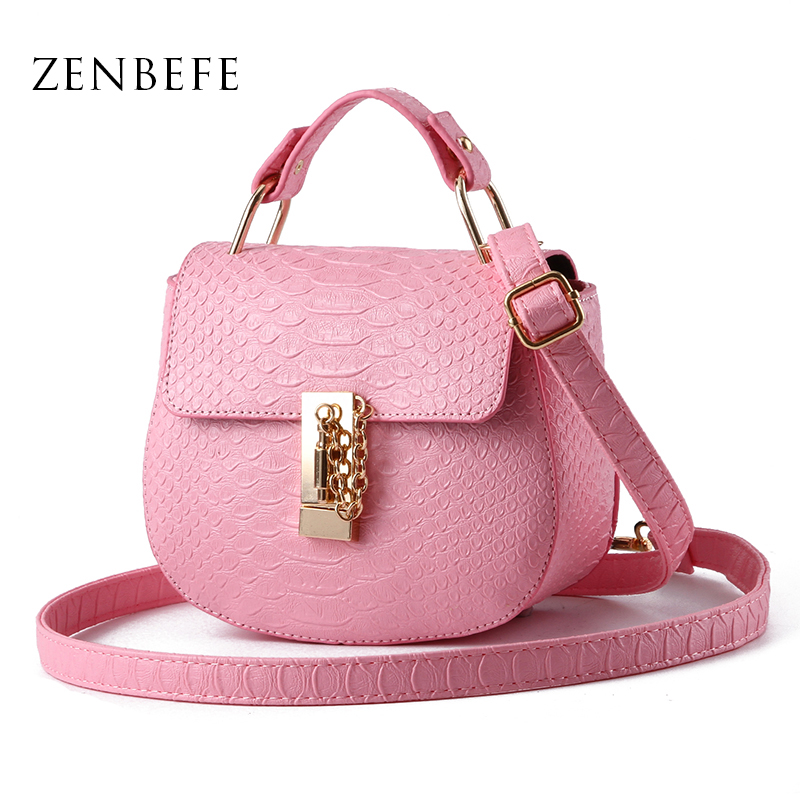 ZENBEFE Ladies Party Purse Fahion Women Messenger Bags Durable Small PU Leather