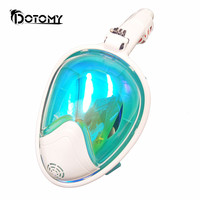 Diving Mask Underwater Scuba Anti Fog Full Face Diving Mask Snorkeling Set With Anti Skid Ring