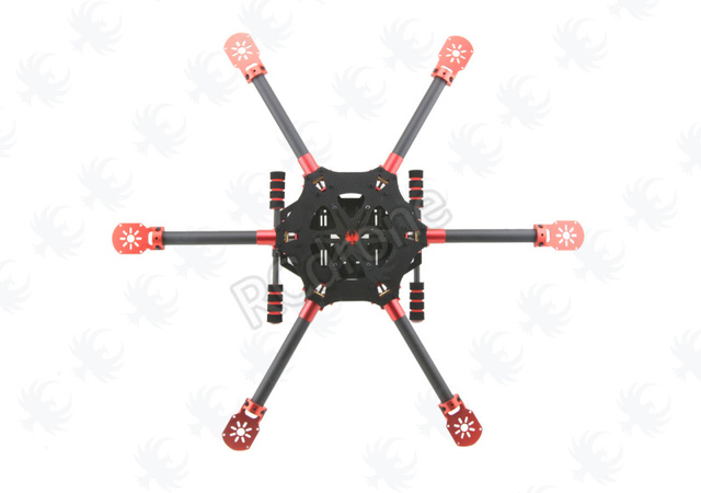 HF 700mm Carbon Fiber Folding FPV Alien Quadcopter Aircraft Frame ...