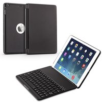 7 Colors Backlit Light Wireless Bluetooth Keyboard Case Cover For IPad Air Ipad 5 A1474 A1475