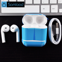 Samload Wireless Headphone Bluetooth Earphone With Microphone Hands Free TWS Wireless Earbuds For Apple IPhone 5s