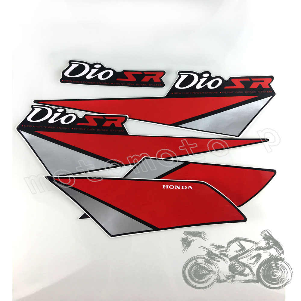 Motorcycle body sticker body sticker stickers for honda dioaf17 af18 af27 af28 sr