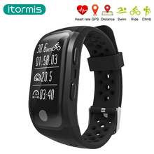 itormis GPS SmartBand Smart Band Wristband Bracelet Bluetooth IP68 Waterproof Fitness Tracker 230MAh Heart Rate Sleep Monitor