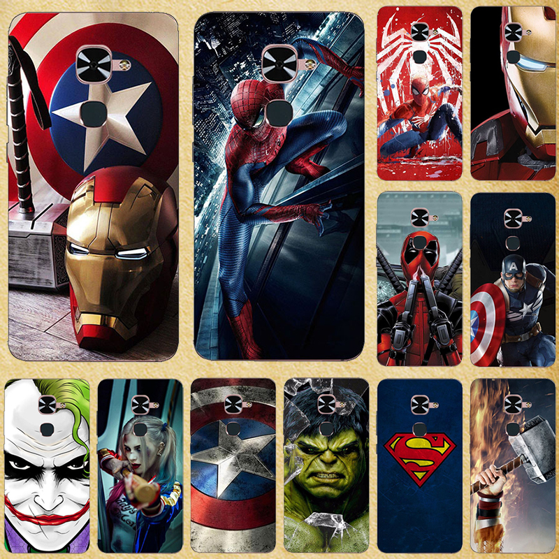 "Super Hero Phone Case Cover For Letv LeEco Le 2 LE2 Pro X620 X527 5.5"" Back Cover For Letv LeEco Le S3 Lte 4G X20 X626 X522 X622"