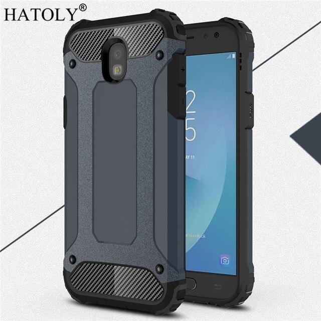 sFor Coque Samsung Galaxy J5 2017 Case J530F/DS Heavy Armor Hard Cover Silicone Case for Samsung J5 Pro 2017 EU Version HATOLY