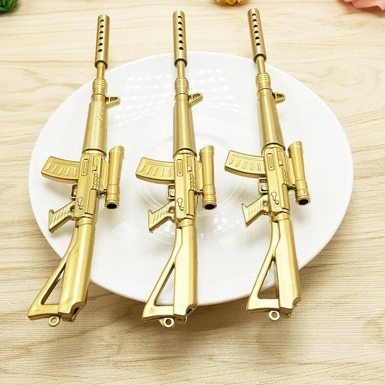 12 шт. пистолет нейтральный ручка дети день рождения подарок мальчик сувенир Baby Shower крещение подарок события вечерние питания