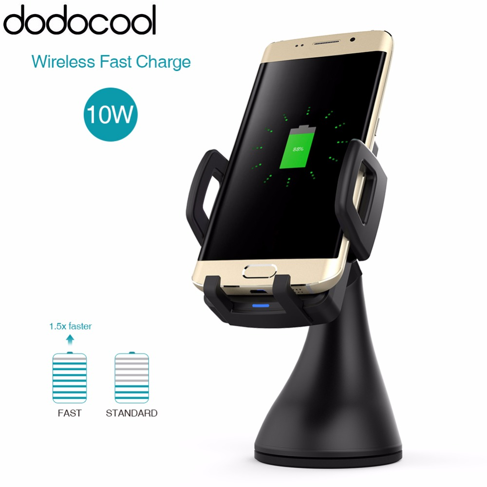 dodocool Fast Wireless Car Charger with 1.5m Charging ...