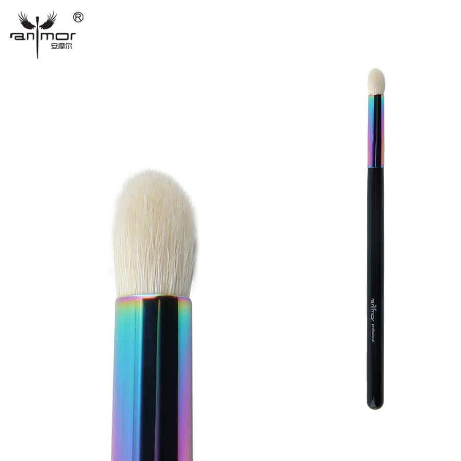 Anmor Goat Hair Tapered Blending Brush High Quality Øjenskygge Makeup Pensler til Daily eller Professional Make Up CFCB-B07