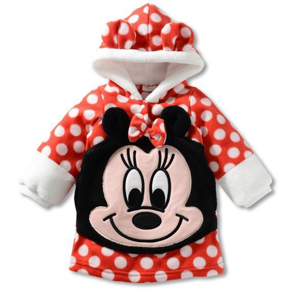 Clothing Hoodies Kids Fleece Sweatshirts Girls Baby Boys Children New Duck Coats Leisure