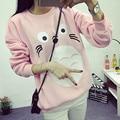 2016 new autumn totoro sweatshirt women japanese harajuku cute totoro print pullover womens tracksuit moleton feminina