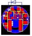 2 W 450nm Diodo Laser Motorista 1 5A 1 8A Impulso Circuito Estável Design Compacto