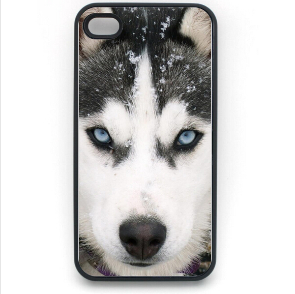 Unique Cool Siberian Husky Case for iPhone 4S 5 5S 5C 6 6S Touch Plus Samsung Galaxy S3 S4 S5 Mini S6 Edge A3 A5 A7 Note 23 4 5