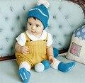 Новорожденного Ребенка Детский Комбинезон Мальчик Девочка Комбинезон вязать Комбинезоны Детской Одежды весна осень зима Детская Одежда
