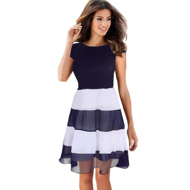 Short summer beach dresses