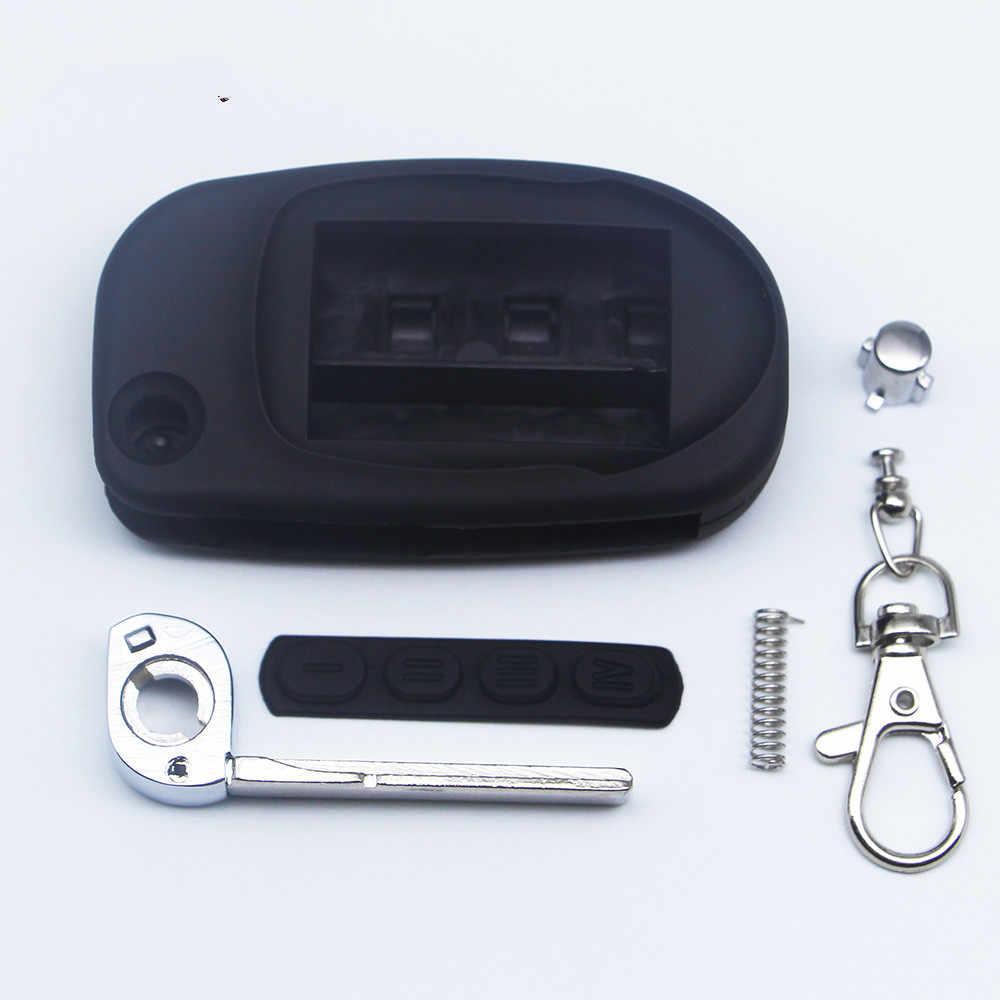 Nouveauté switchblade etui clé pour Scher Khan magicar 7 lame non coupée fob housse de boîtier M7 pliant voiture flip télécommande