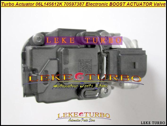 все цены на BEST Original Turbo Actuator 06L145612K 70597387 06L-145-612-K Turbocharger Electronic BOOST ACTUATOR Valve Turbocharger parts онлайн