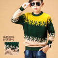 The child double thick wool sweater cashmere sweater sweater boy in 2015 new children sweater Pullover