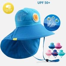 Lemonkid Wide Brim Children Sun Hat Kids Bucket Cap Summer Beach Girls Travel Outdoor New Fashion Cute Boy Casual Hats