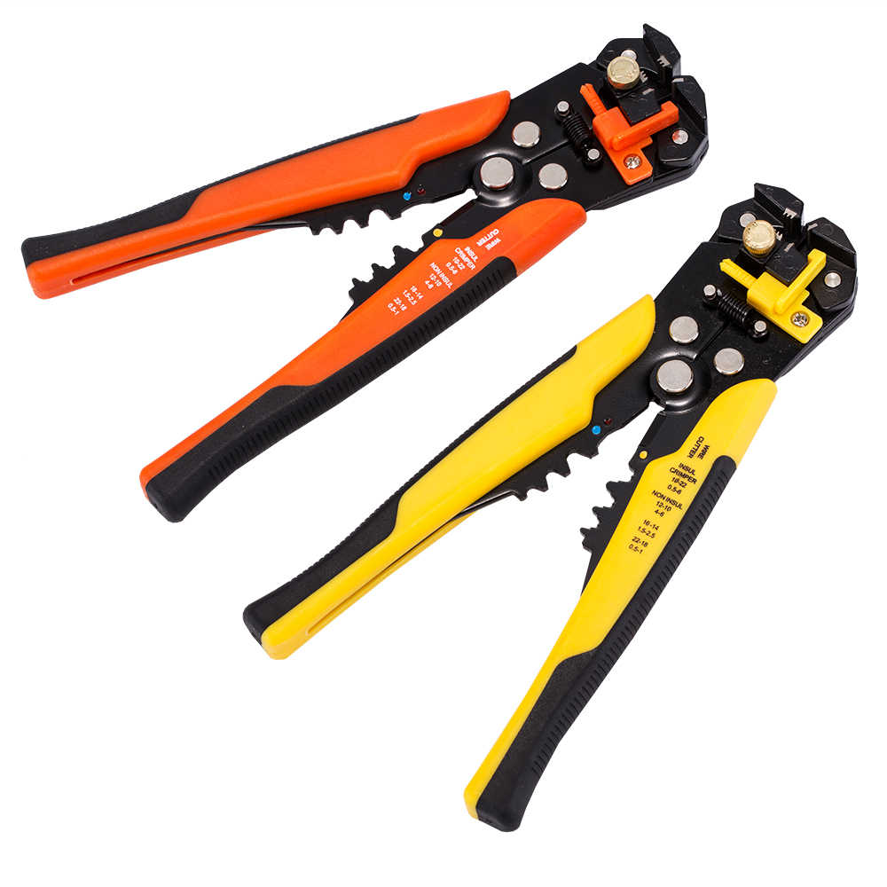 Multifunctional TAB Terminal Crimping Stripping Plier Tools JX1301 Cable Wire Stripper Cutter Crimper Automatic