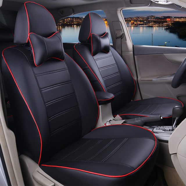 Custom Fit Leather Car Seat Covers For Toyota Camry 40