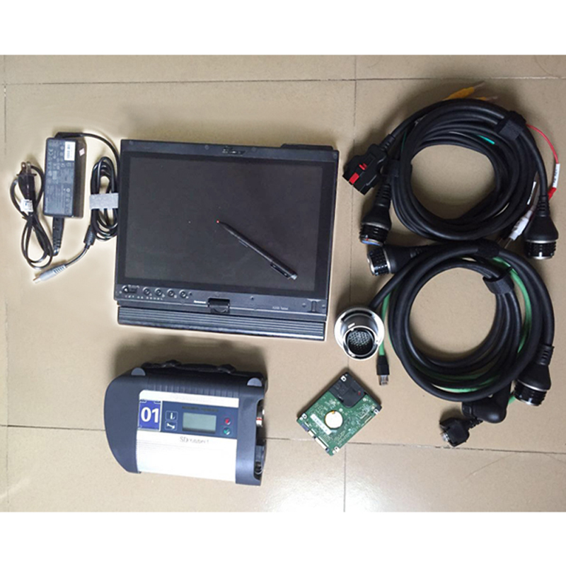 2018 mb star c4 sd connect compact 4 with wifi +software 2018.05 hdd+x200t laptop installed well multi languages Diagnostic tool