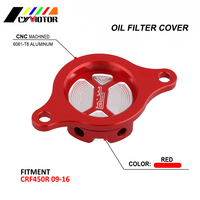 Motrocycle CNC Aluminum Cleaner Oil Filter Cover Set For HONDA CRF450R CRF 450R 09 10 11 12 13 14 15 16 2009 2010 2011 2012 2016