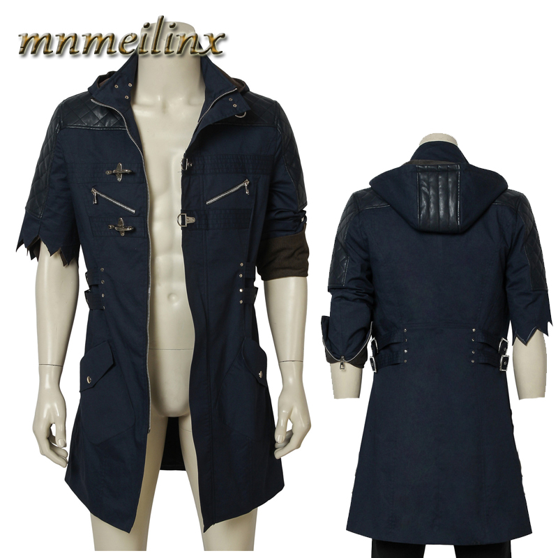 HOT Nero Shirt Cosplay Devil May Cry 5 Only Red Shirt Halloween Cosplay Costume