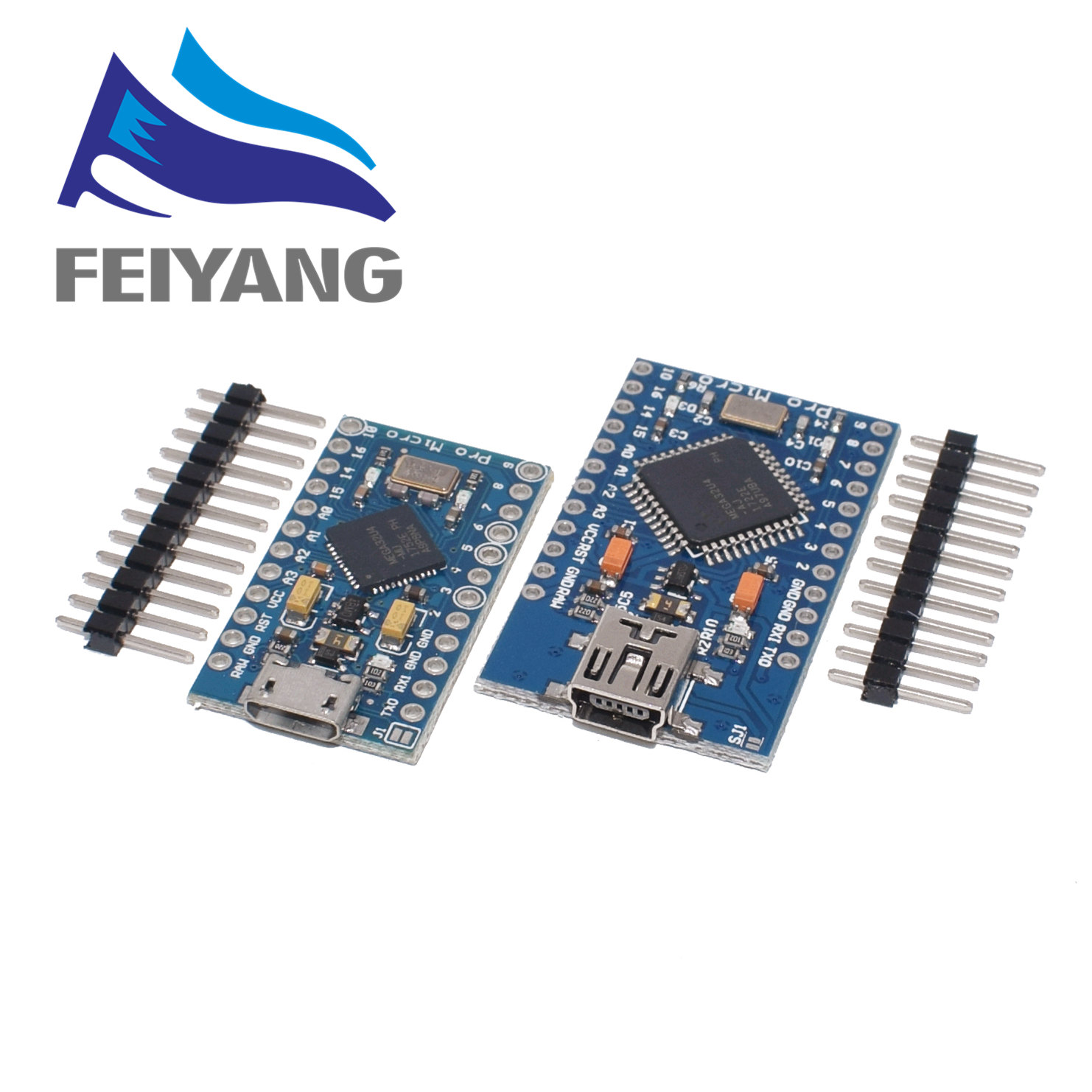 Module de carte PRO MICRO/MINI USB 5V 16MHz pour contrôleur Arduino/Leonardo ATMEGA32U4-AU/MU Pro-Micro remplacer Pro Mini