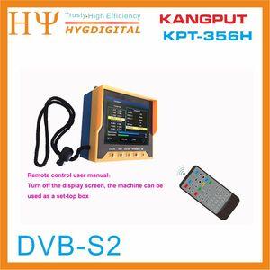 Image 5 - [Hakiki] KPT 356H 3.5 inchHandheld TFT LCD çok fonksiyonlu (DVB S/S2) dijital uydu bulucu daha iyi satelink ws 6906 6933