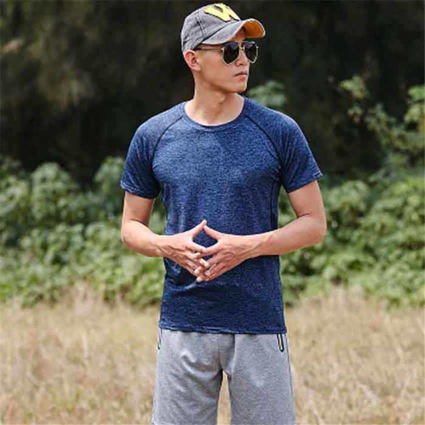 2019 sommer schnell trocknend T-shirt männer und frauen kurzarm sommer sport fitness paar im freien schnell trocknend kleidung